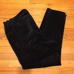 J.Jill plus women's velvet skinny pants